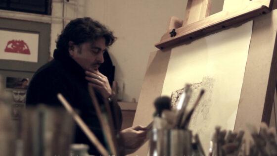 El artista porteño sigue empedernido en obtener su Maestría de Arte, además de montar una exposición individual en Alemania y Francia próximamente.